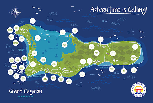National Trust Cayman Explorer Passport to Grand Cayman